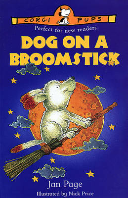 DOG ON A BROOMSTICK (Paperback)