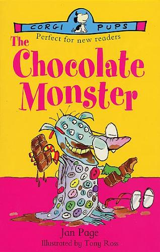 The Chocolate Monster (Paperback)