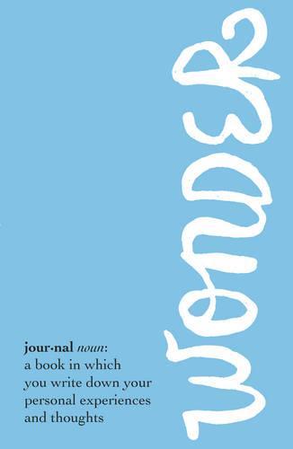 Wonder Journal (Paperback)