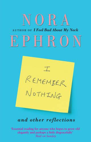 I Remember Nothing and other reflections (Paperback)