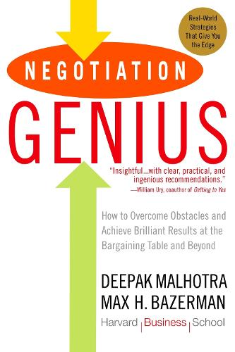 Negotiation Genius (Paperback)