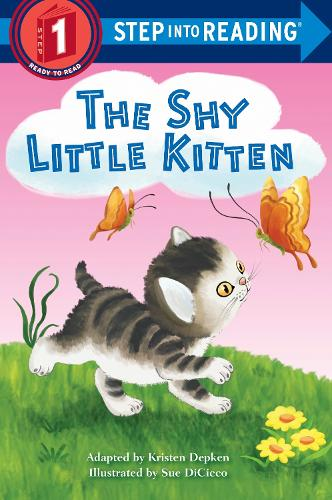 The Shy Little Kitten Step Into Reading Lvl 1 (Paperback)