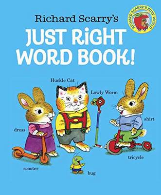 Click to view product details and reviews for Richard Scarrys Just Right Word Book Board Book.