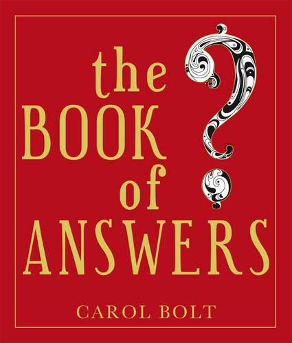 The Book Of Answers (Hardback)