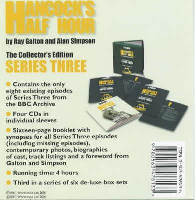 Hancock's Half Hour: Collector's Edition Series 3 (CD-Audio)