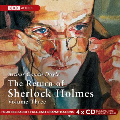 The Return of Sherlock Holmes: v. 3 (CD-Audio)