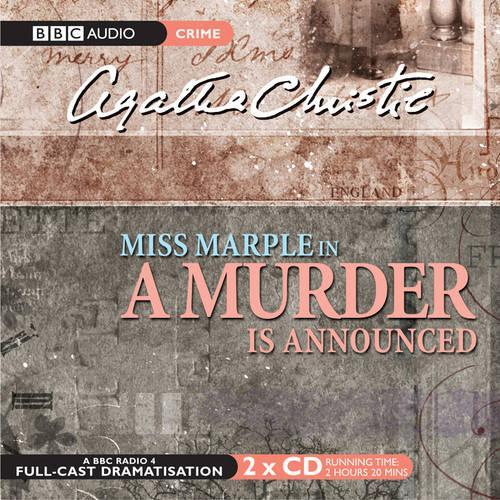A Murder Is Announced (CD-Audio)