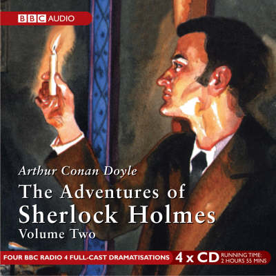 The Adventures of Sherlock Holmes: v. 2 (CD-Audio)