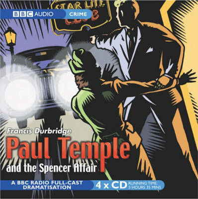 Paul Temple And The Spencer Affair (CD-Audio)