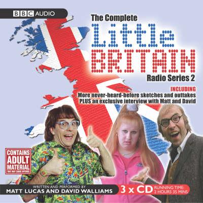 """""""Little Britain"""" - The Complete Radio: Series 2 - Little Britain - BBC Comedy S. 3 (CD-Audio)"""