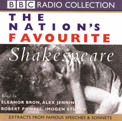 The Nation's Favourite Shakespeare: A Selection of Verse - BBC Radio Collection (CD-Audio)
