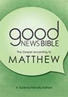 The Gospel according to Matthew 2020: A dyslexia-friendly edition (Paperback)