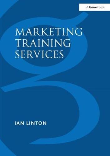 Marketing Training Services (Hardback)