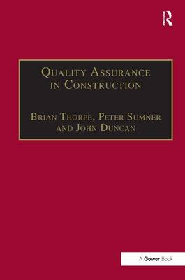 Quality Assurance in Construction (Hardback)