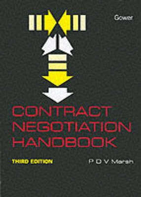 Contract Negotiation Handbook (Hardback)
