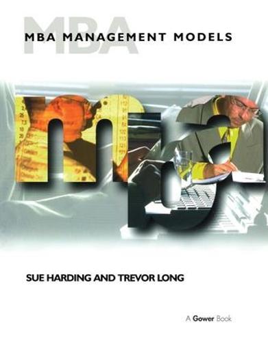 MBA Management Models (Paperback)
