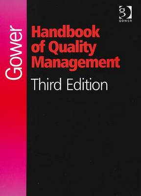 Gower Handbook of Quality Management (Hardback)