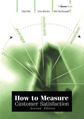 How to Measure Customer Satisfaction (Paperback)