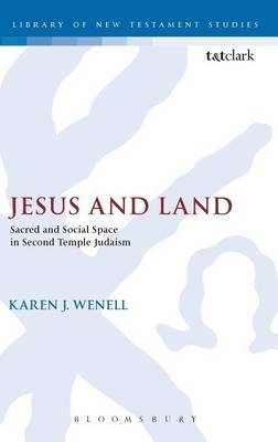 Jesus and Land: Sacred and Social Space in Second Temple Judaism - The Library of New Testament Studies v. 334 (Hardback)