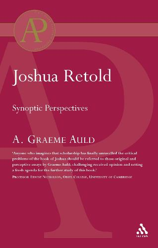 Joshua Retold: Synoptic Perspectives (Paperback)