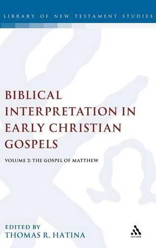 Biblical Interpretation in Early Christian Gospels: Gospel of Matthew v. 2 - The Library of New Testament Studies 310 (Hardback)