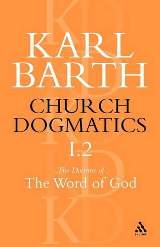 Church Dogmatics Classic Nip I.2 (Paperback)