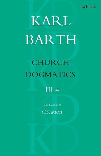 Church Dogmatics Classic Nip III.4 (Paperback)