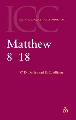 Matthew 8-18 (Paperback)