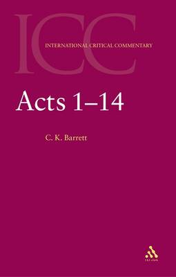 Acts 1-14 (Paperback)
