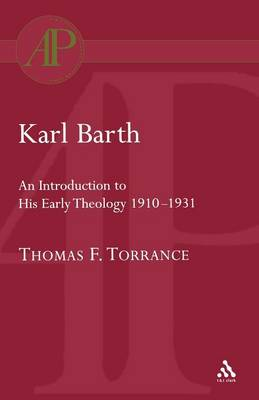 Karl Barth: Introduction to Early Theology (Paperback)