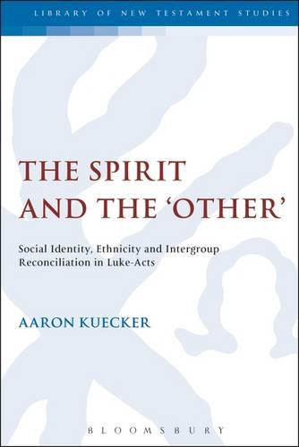 The Spirit and the 'Other': Social Identity, Ethnicity and Intergroup Reconciliation in Luke-Acts - The Library of New Testament Studies (Hardback)