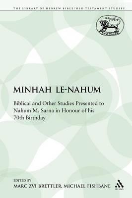 Minhah Le-Nahum (Paperback)