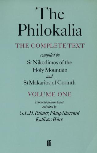 The Philokalia Vol 1 (Paperback)