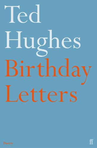Cover of the book, Birthday Letters.