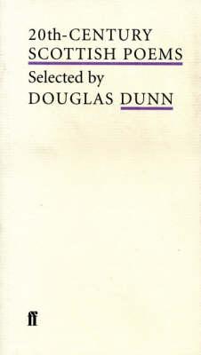 20th-Century Scottish Poems (Paperback)