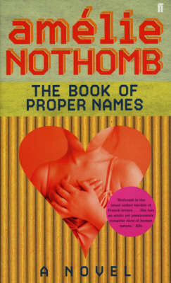 The Book of Proper Names (Paperback)