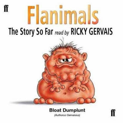Flanimals: The Story So Far: Read by Ricky Gervais (CD-Audio)