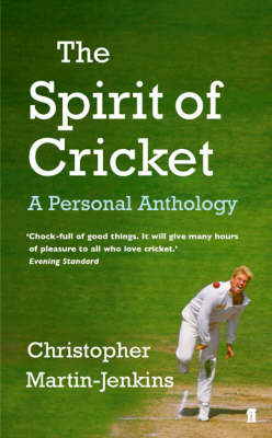 The Spirit of Cricket (Paperback)