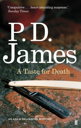 A Taste for Death - Inspector Adam Dalgliesh Mystery (Paperback)