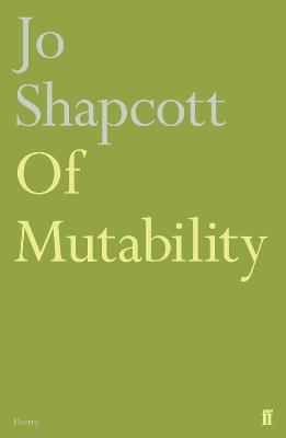 Of Mutability (Hardback)