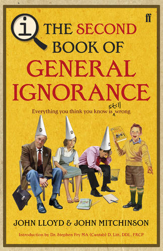 QI: The Second Book of General Ignorance (Hardback)