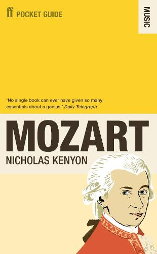The Faber Pocket Guide to Mozart (Paperback)