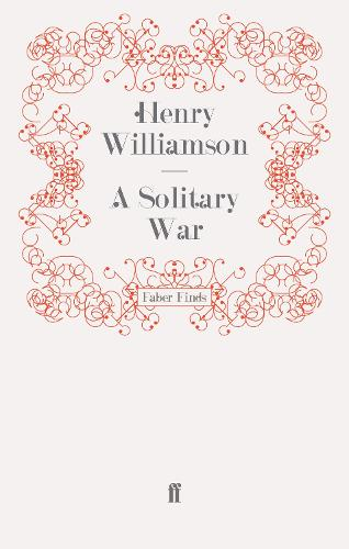 A Solitary War - A Chronicle of Ancient Sunlight (Paperback)