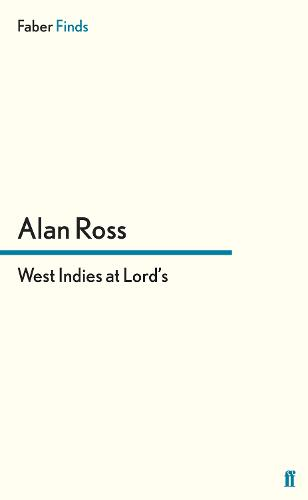West Indies at Lord's (Paperback)