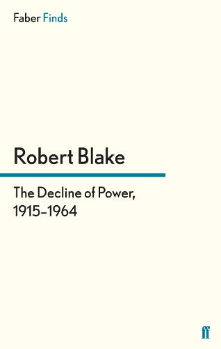 The Decline of Power, 1915-1964 (Paperback)