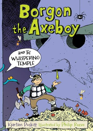 Borgon the Axeboy and the Whispering Temple (Paperback)