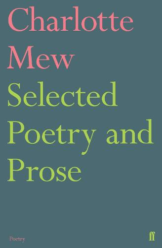 Selected Poetry and Prose (Paperback)
