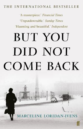 But You Did Not Come Back (Paperback)