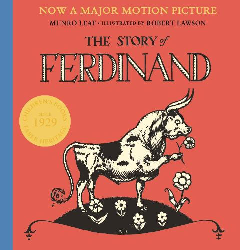 Cover of the book, The Story of Ferdinand.