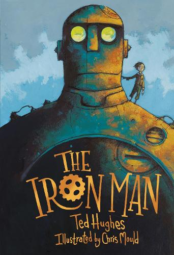 Cover of the book, The Iron Man.